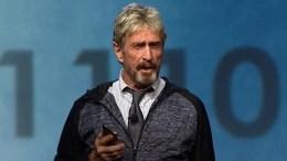 John McAfee cobra 105000 por Tuit para promover proyectos de Criptomoneda - John McAfee cobra $105,000 por Tuit para promover proyectos de Criptomoneda