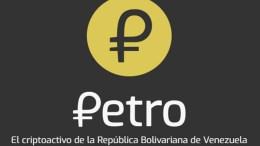 Valor del petro se ubicó en 4904 euros - Valor del petro se ubicó en 49,04 euros