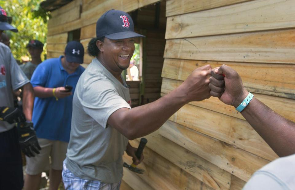 Pedro Martinez building hope in the Dominican