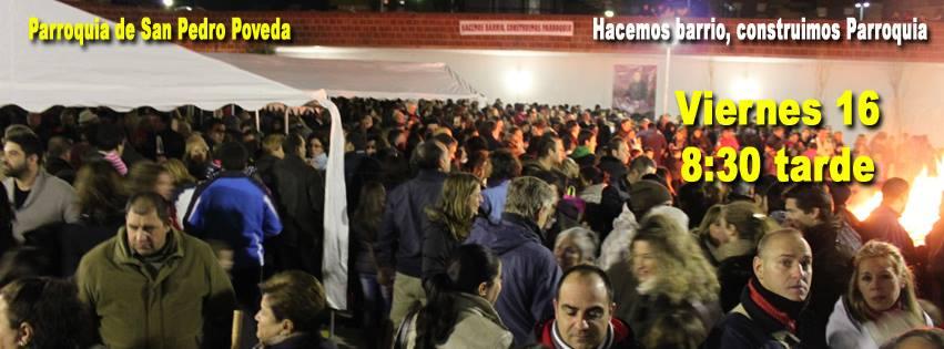 Lumbre de San Antón: Viernes 16 de Enero de 2015