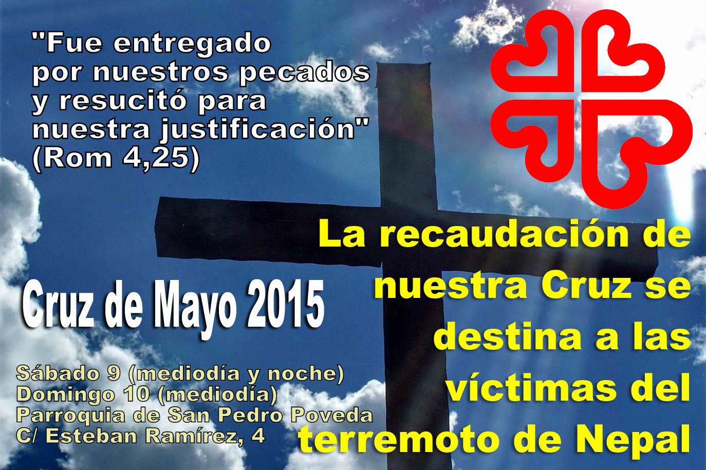 La Parroquia de San Pedro Poveda destinará la recaudación de la Cruz de Mayo para Nepal