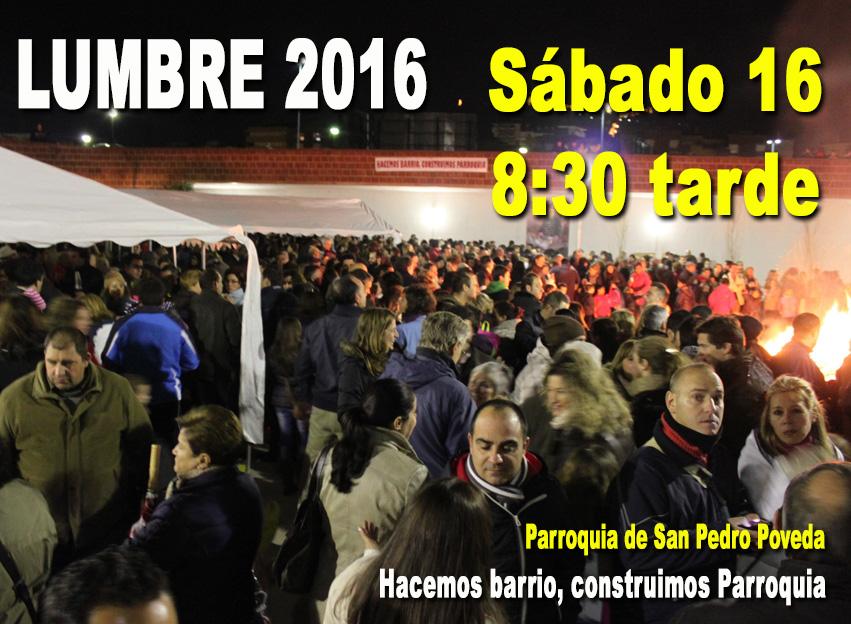 Lumbre de San Antón 2016