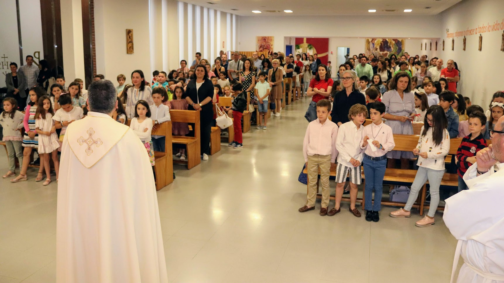 Primera Confesión de los niños de 3º de Primaria