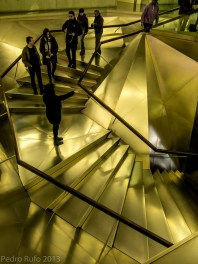 Madrid Esclaeras del CaixaForum