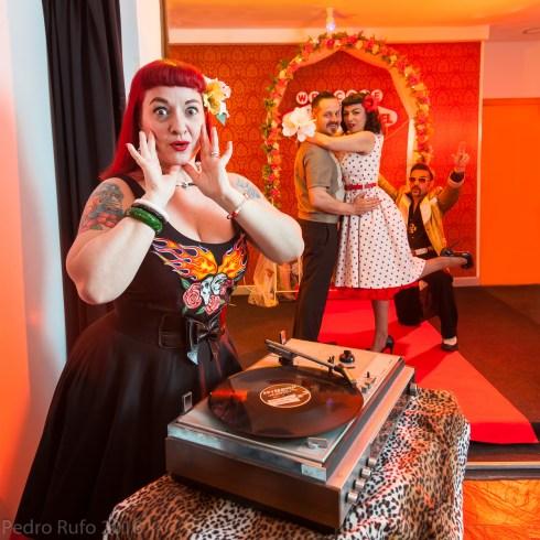 Las Vegas Chapel España con Susana Guerrero, Lola Burlesque y Rafael Pascual
