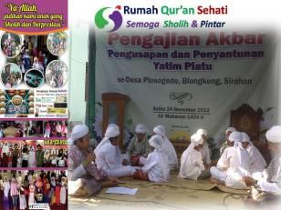 Infaq Pengembangan Rumah Tahfidz Qur'an Sehati (5)