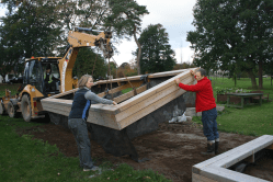In Pictures: Beds in place