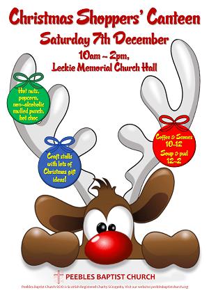 Christmas Canteen poster