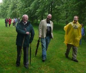 Men's group walk