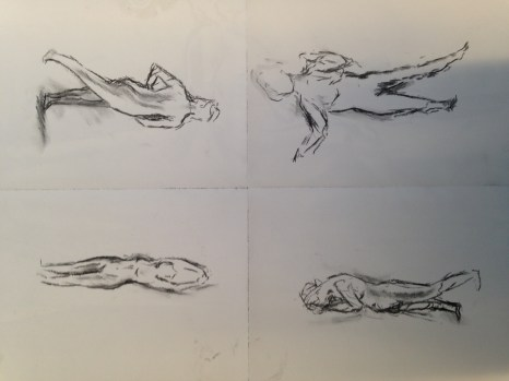 3 minute sketches