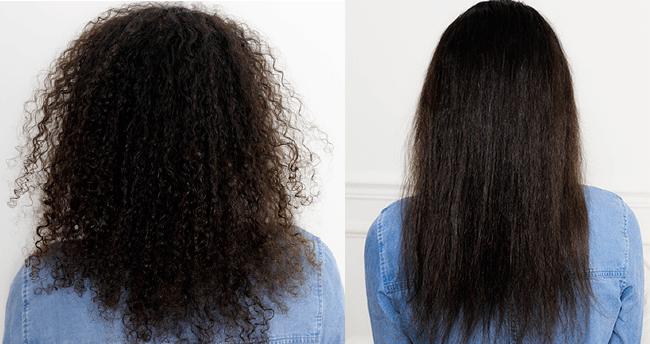 Dafni-brosse-lisser-cheveux-frises-avant-apres-2