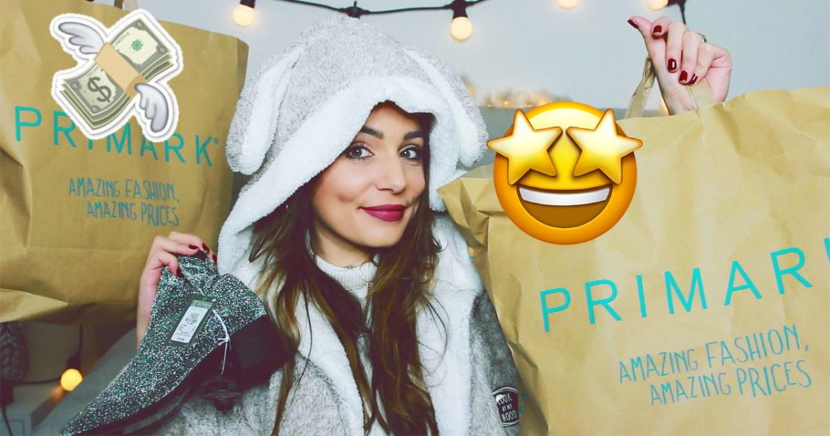 HAUL PRIMARK : PETITS PRIX & NOUVEAUTES AUTOMNE 2017 !