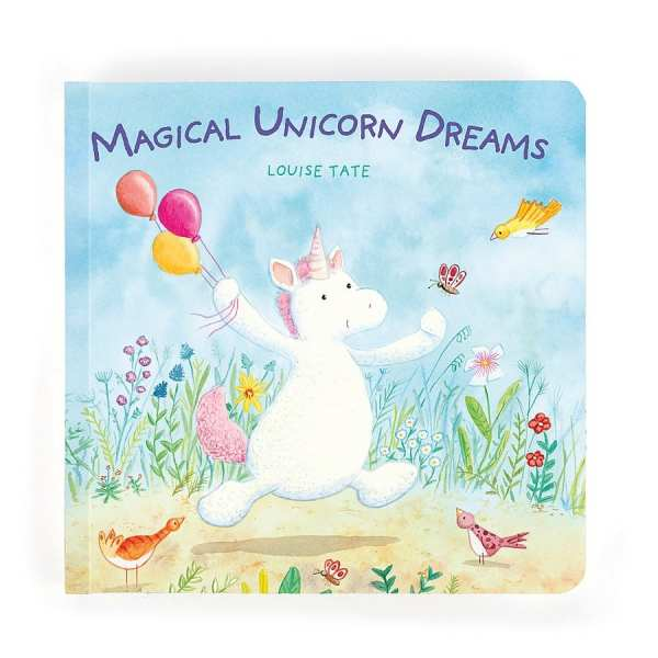 Jellycat Unicorn Dreams Book