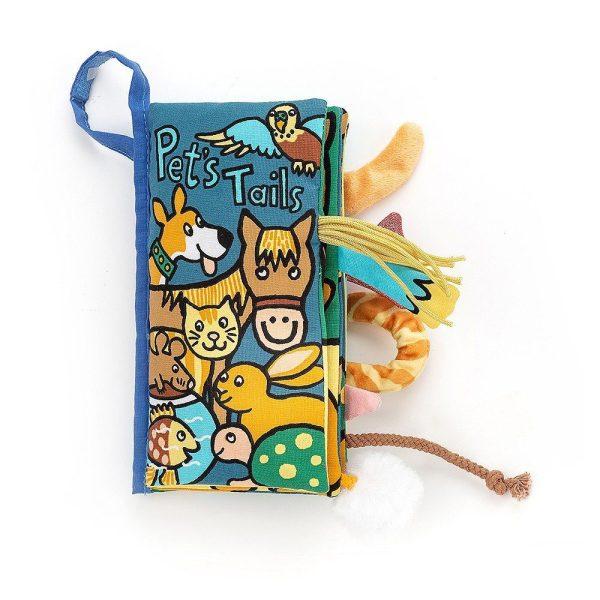 Jellycat Pet Tails Soft Book