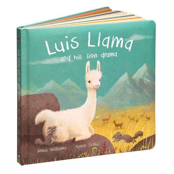 Jellycat Luis Llama Book