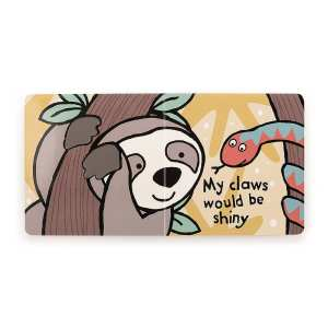 Jellycat If I Were A Sloth Board Book
