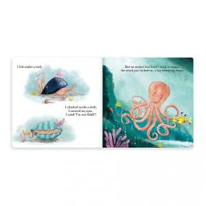 Jellycat The Fearless Octopus Book
