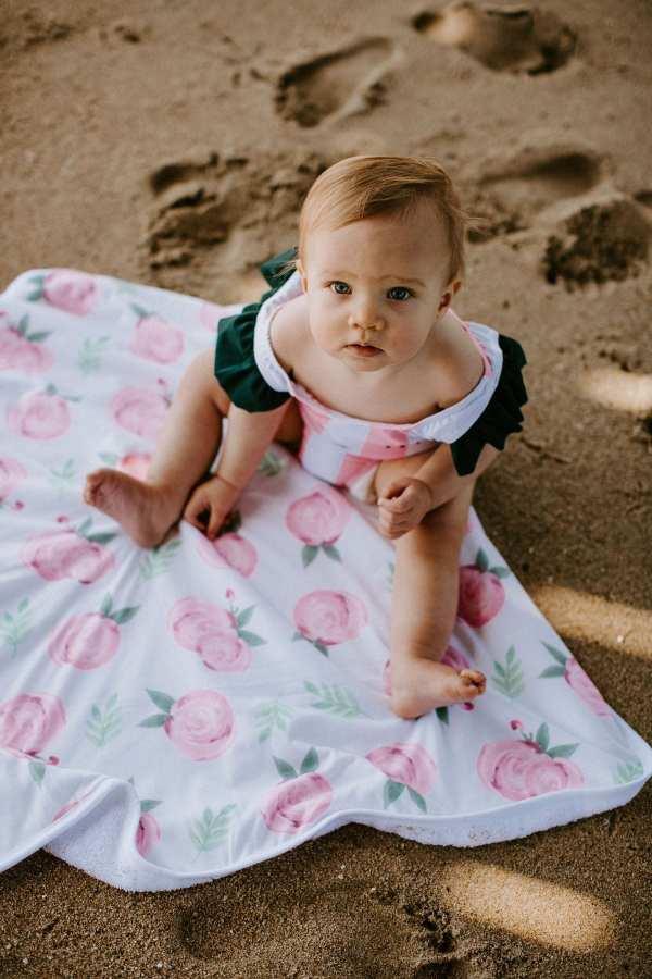 Copper Pearl Grace Hooded Towel
