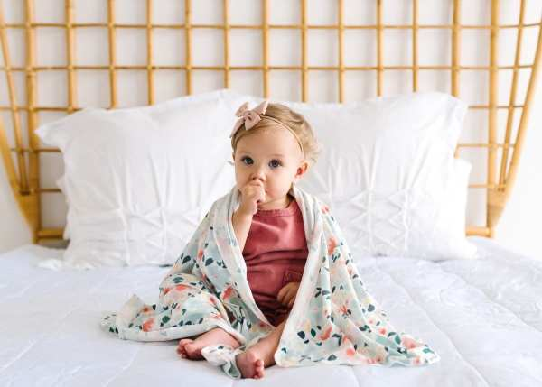 Copper Pearl Leilani Swaddle Blanket