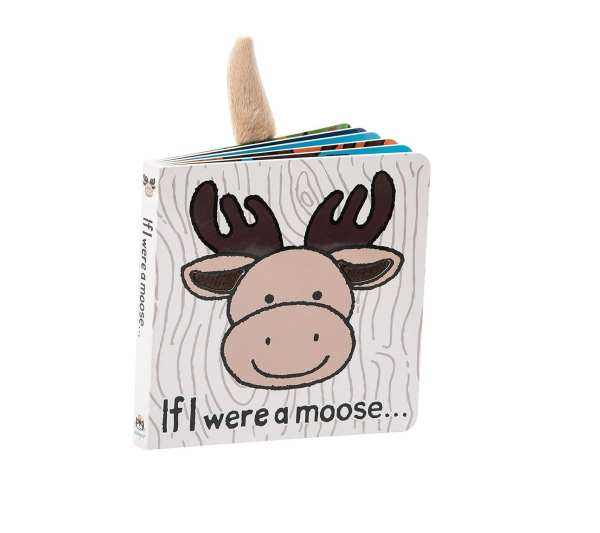 Jellycat If I Were a Moose Board Book