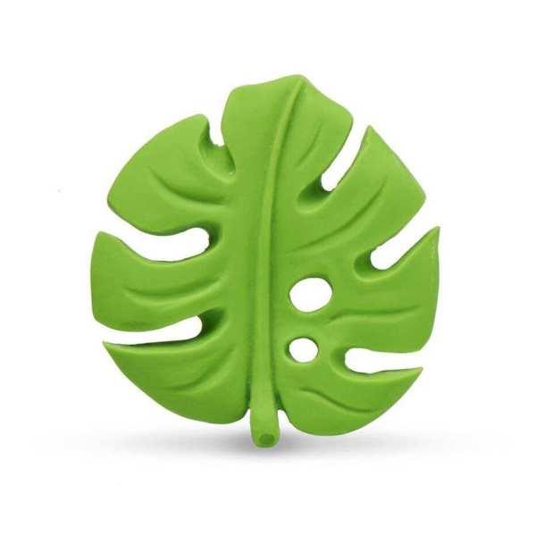 Lanco Natural Rubber Monstera Leaf Teether