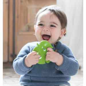 Lanco Natural Rubber Monstera Leaf Teether