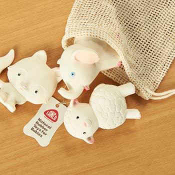 Lanco Natural Rubber Floco Set Fox Lam Elephant
