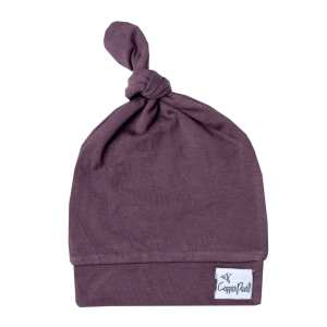 opper Pearl Plum Top Knot Hat