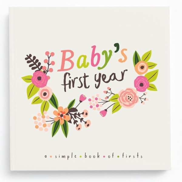Lucy Darling Little Artist Memory Baby Book