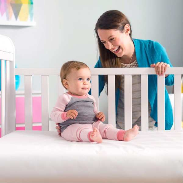 Lullaby Earth Healthy Support 2 Stage Crib Mattress