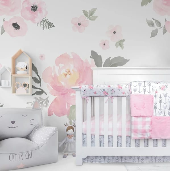 Jlika 4pc Crib Bedding Set