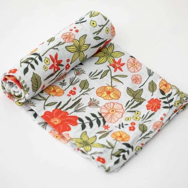 Little Unicorn Muslin Swaddle Blanket - Primrose Patch