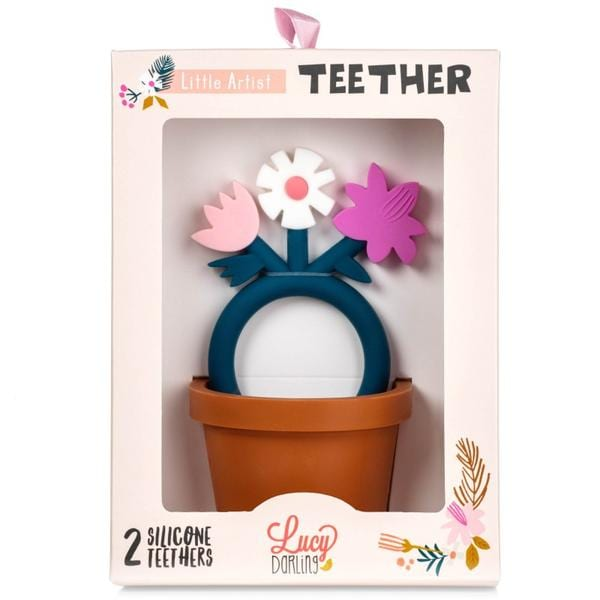 Lucy Darling Little Artist Teethers