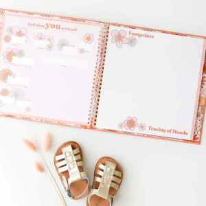 Lucy Darling Memory Baby Book - Flower Child