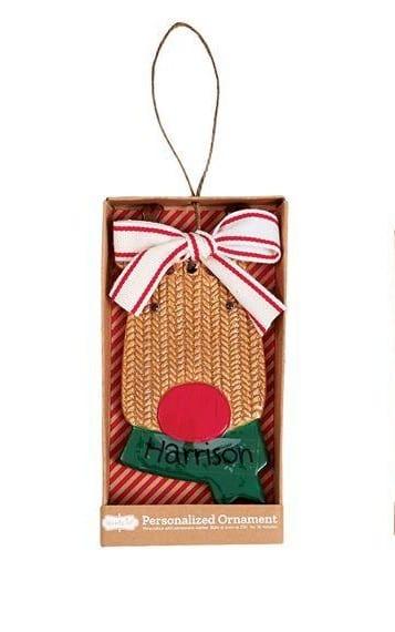 Mud Pie Reindeer Personalized Ornament