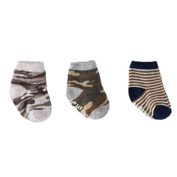 Mud Pie Sock Camo Set Newborn