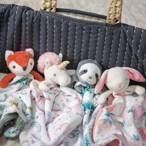Mary Meyer Little Knottie Fox Blanket