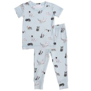 Angel Dear Grey Hounds Loungewear Set
