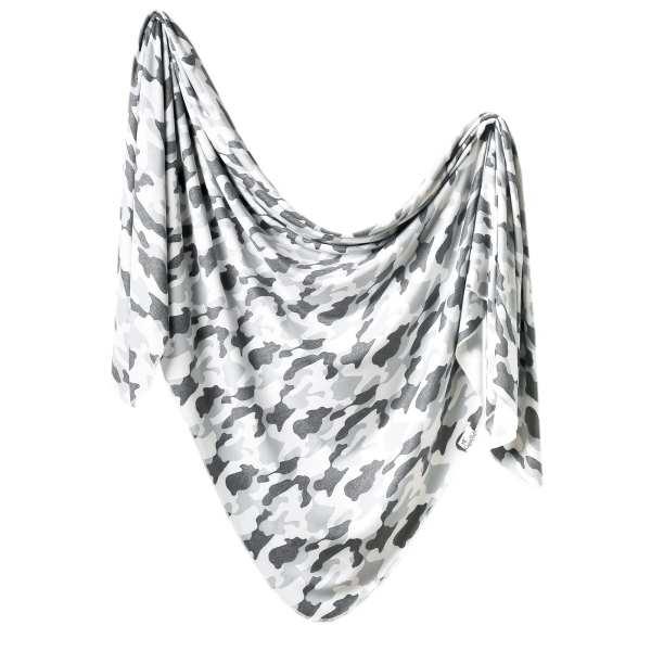 Copper Pearl Gunnar Knit Swaddle Blanket