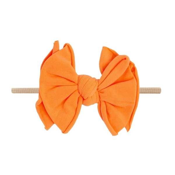 Baby Bling Fab-Bow-Lous SKINNY - Blush/Neon Orange Pop