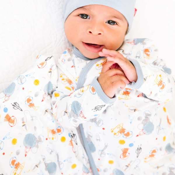 Magnetic Me Astro Pups Swaddle Blanket
