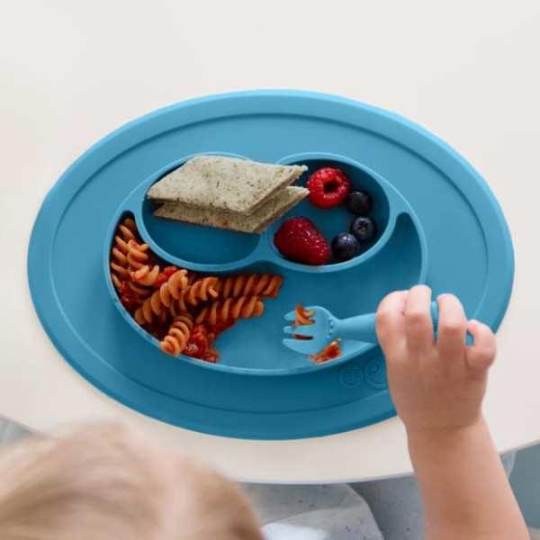 ezpz Mini Feeding Set - Blue
