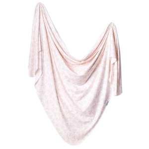 Copper Pearl Lola Knit Swaddle Blanket