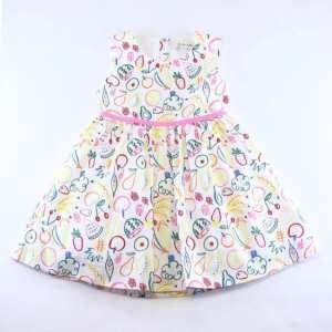 Doe a Dear Fruit Pattern Dress