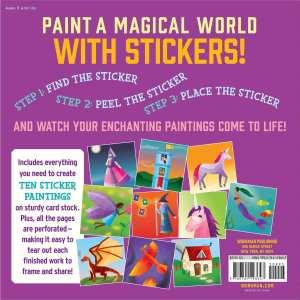 Paint By Sticker Kids - Unicorn Magic