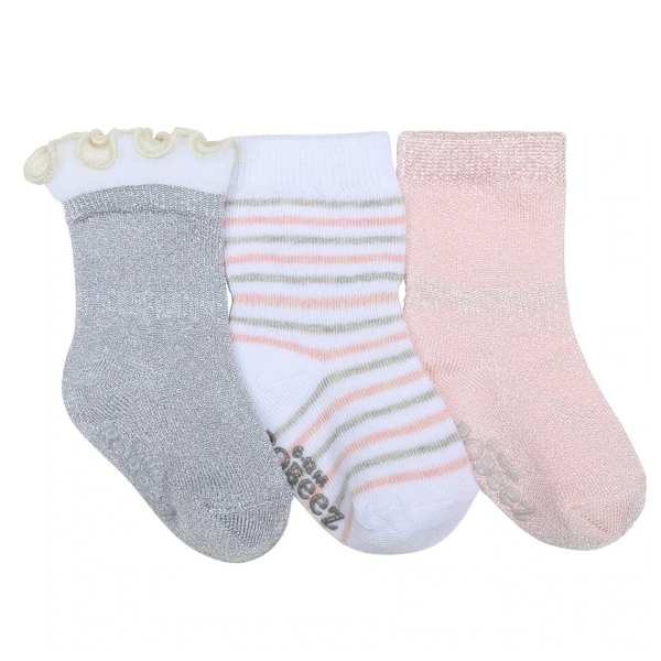 Robeez Socks Stripes and Dots 3-Pack