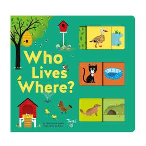 Who Lives Where? A Matching Board Book