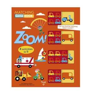 Zoom! Matching Game Board Book