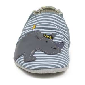 Robeez Soft Soles - Rudi Soft Grey Leather