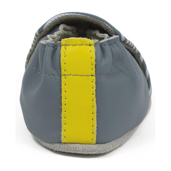 Robeez Soft Soles - Rudi Soft Grey Leather